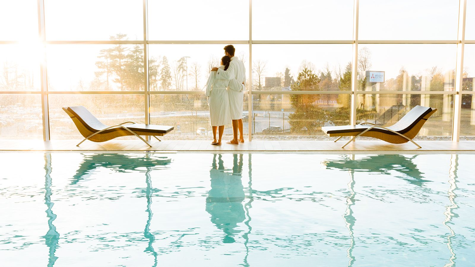 Shine Spa swimming pool, Sheraton Milan Malpensa